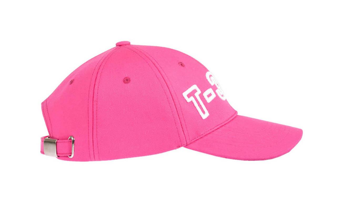 Basecaps T-300 Pink Seitlich Links