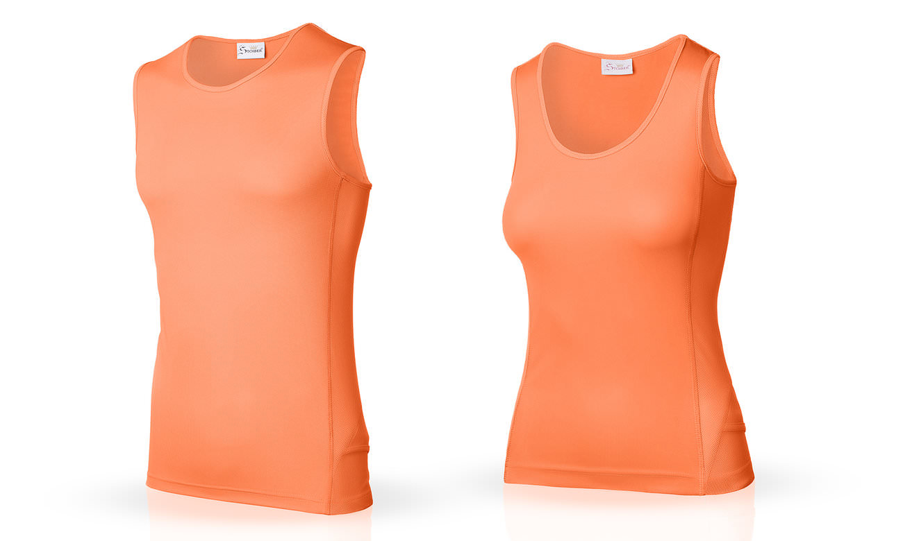Laufshirts ST-143 Neon Orange