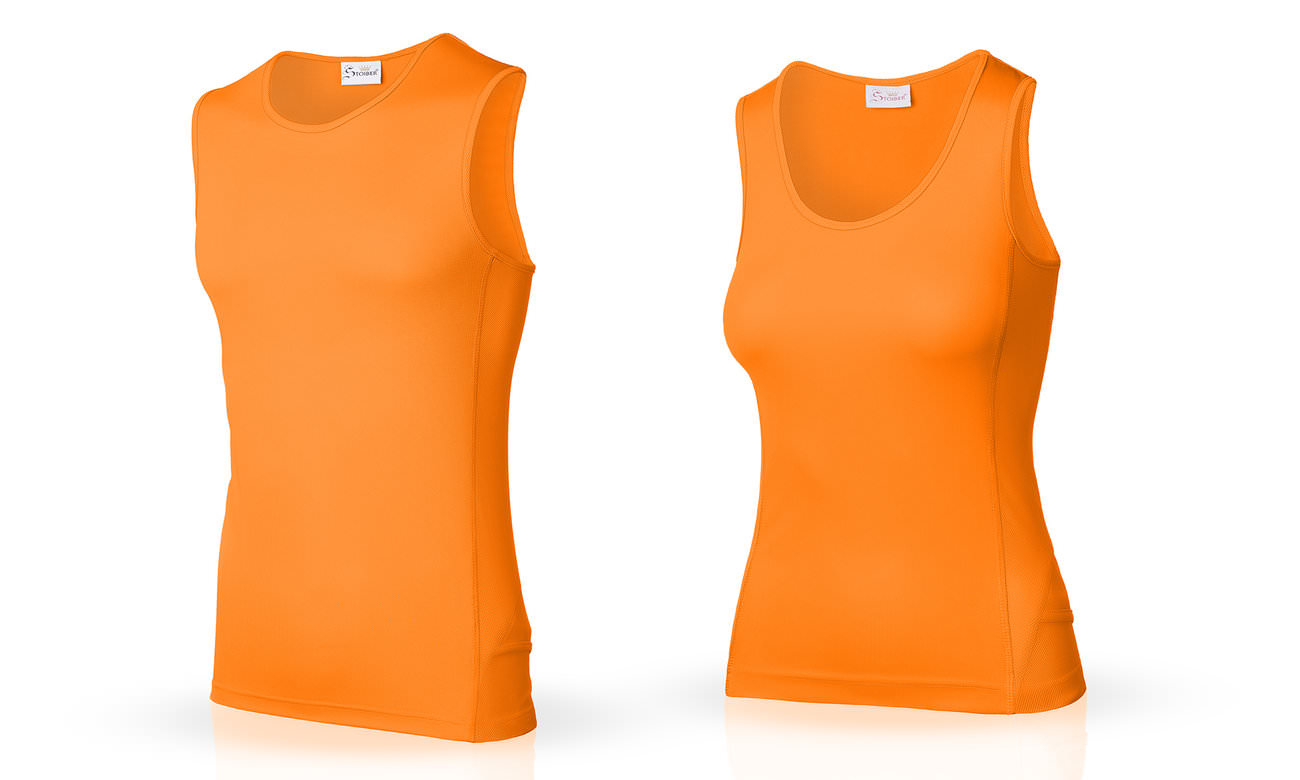Laufshirts ST-143 Orange