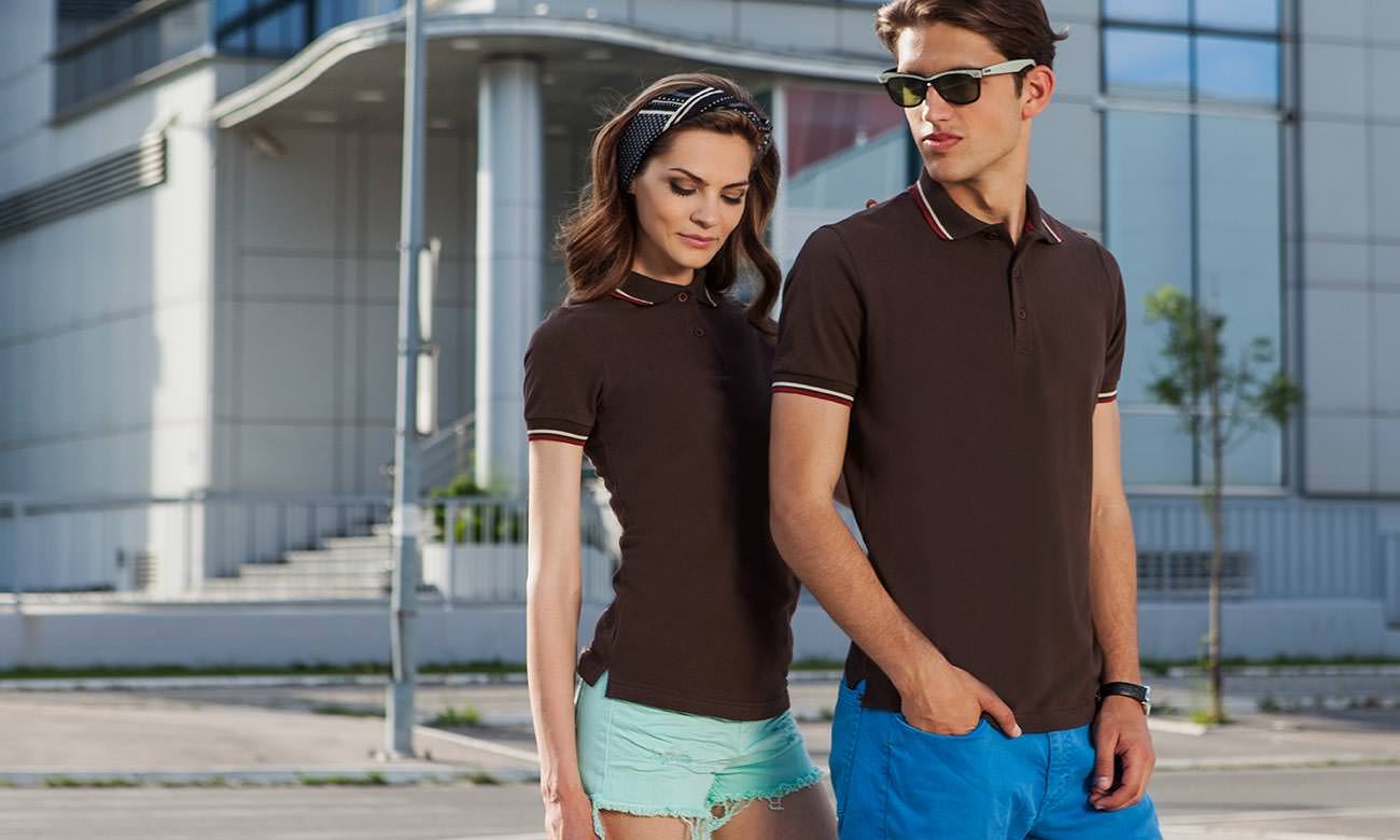 Poloshirts ST-207 Braun Fashion