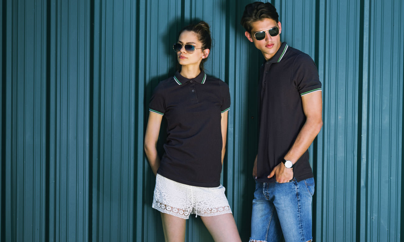 Poloshirts ST-207 Mousegray Fashion