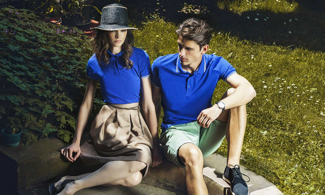 Poloshirts ST-207 Royalblau Fashion