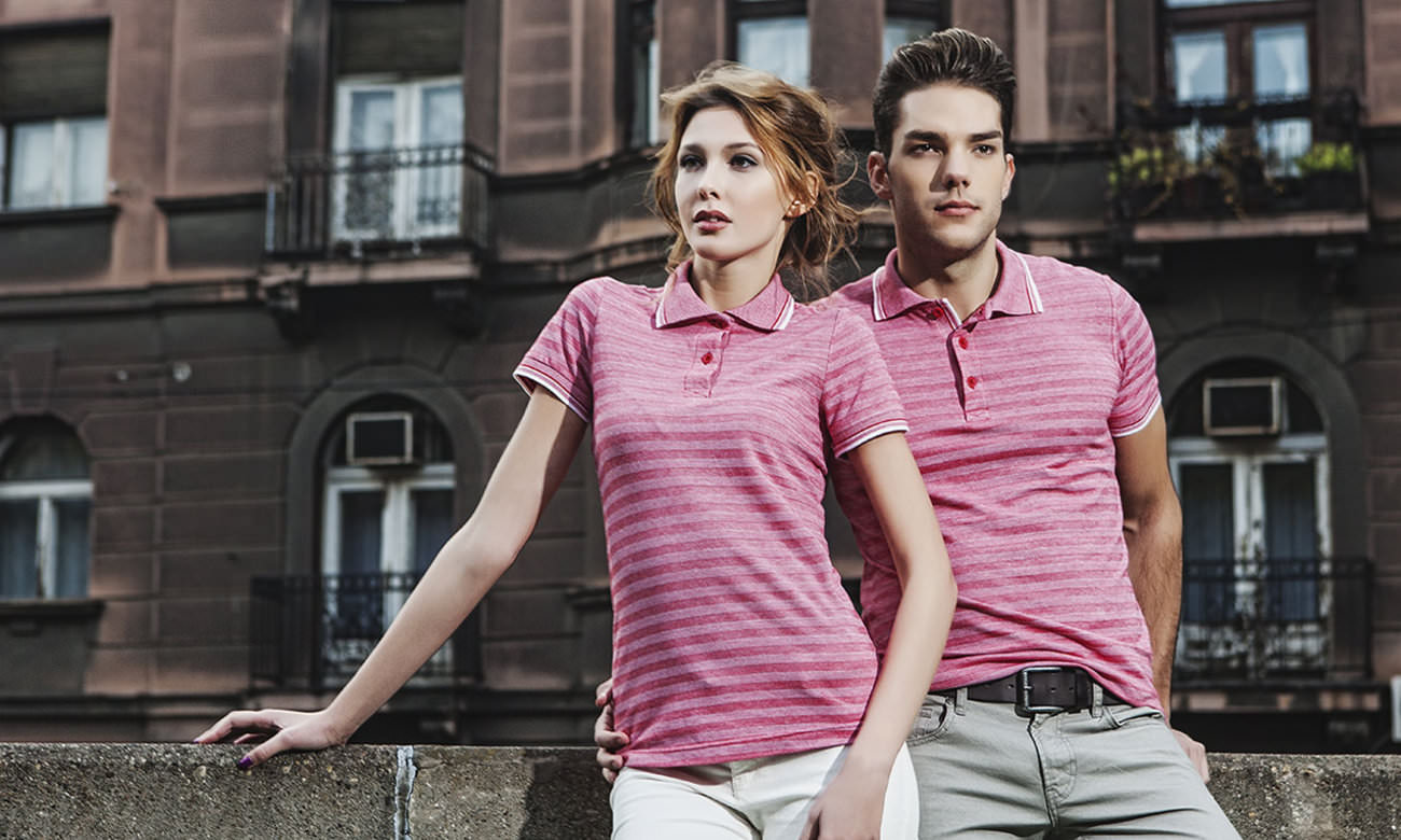 Poloshirts ST-220 Rot Fashion
