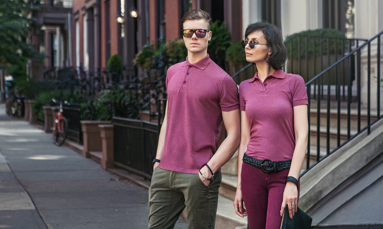 Poloshirts ST-230 Bordeaux Fashion