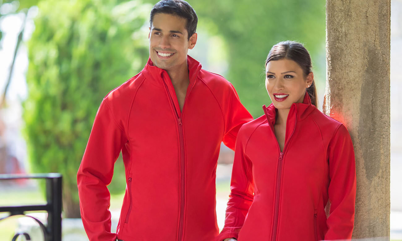 Softshell-Jacken ST-460 Rot Fashion