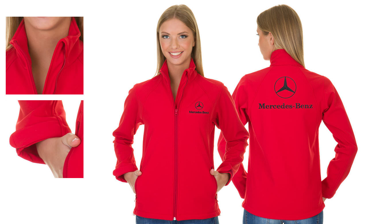 Softshell-Jacken ST-460 Rot Damen