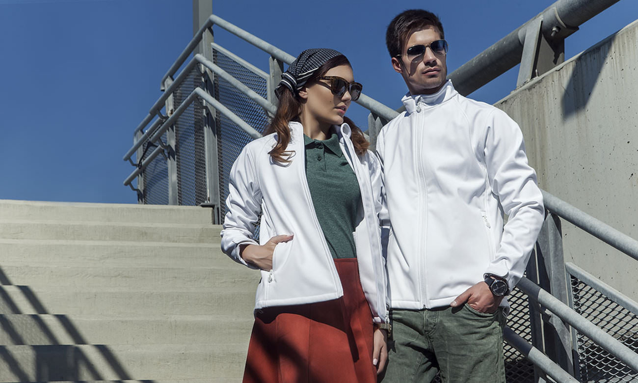 Softshell-Jacken ST-460 Weiss Fashion