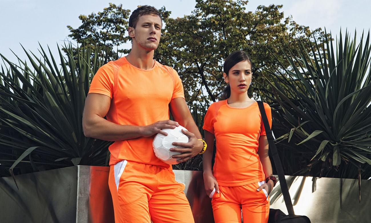 Sportshirts ST-140 Neon Orange Fashion