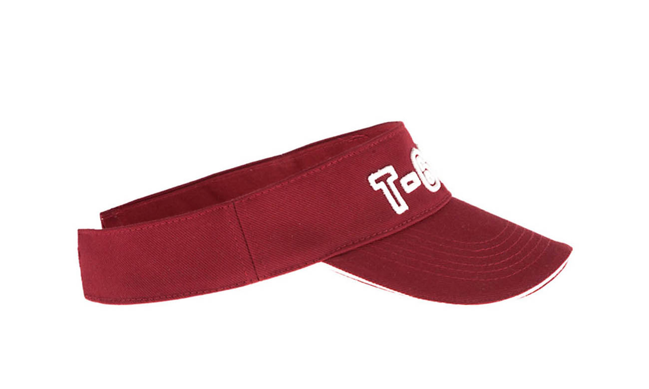 Sunvisors T-600 Bordeaux Seitlich Links