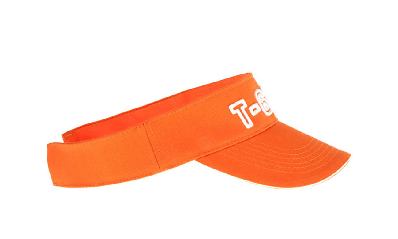Sunvisors T-600 Orange Seitlich Links
