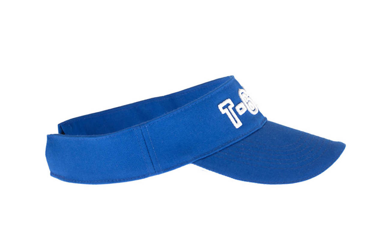 Sunvisors T-600 Royalblau Seitlich Links
