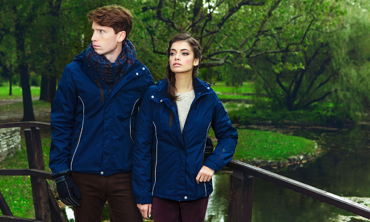 Winter-Jacken ST-450 Dunkelblau Fashion