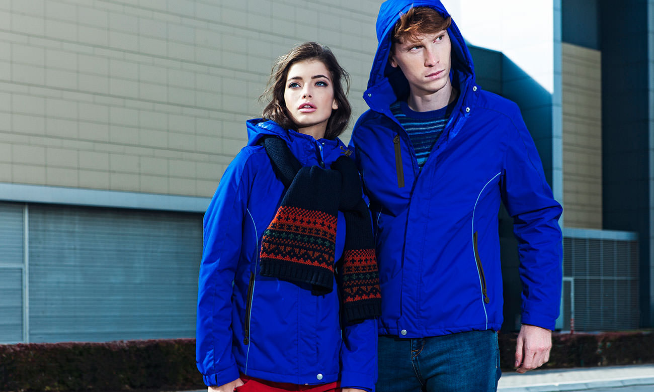 Winter-Jacken ST-450 Royalblau Fashion